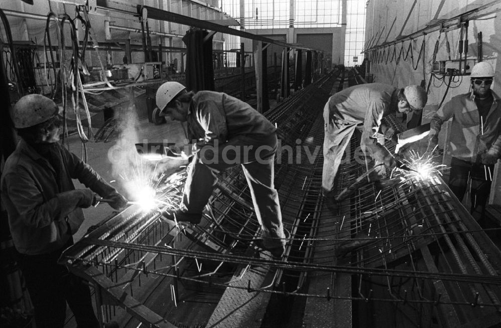 DDR-Fotoarchiv: Berlin - Metallbau in Berlin