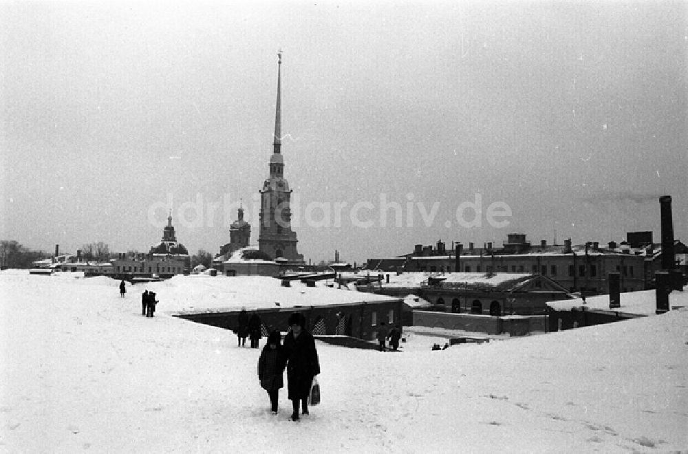 DDR-Fotoarchiv: Leningrad - Peter-und-Paul-Kathedrale in Leningrad