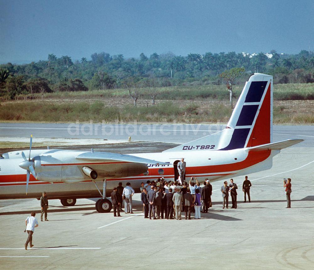 Flughafen Kuba Ankunft