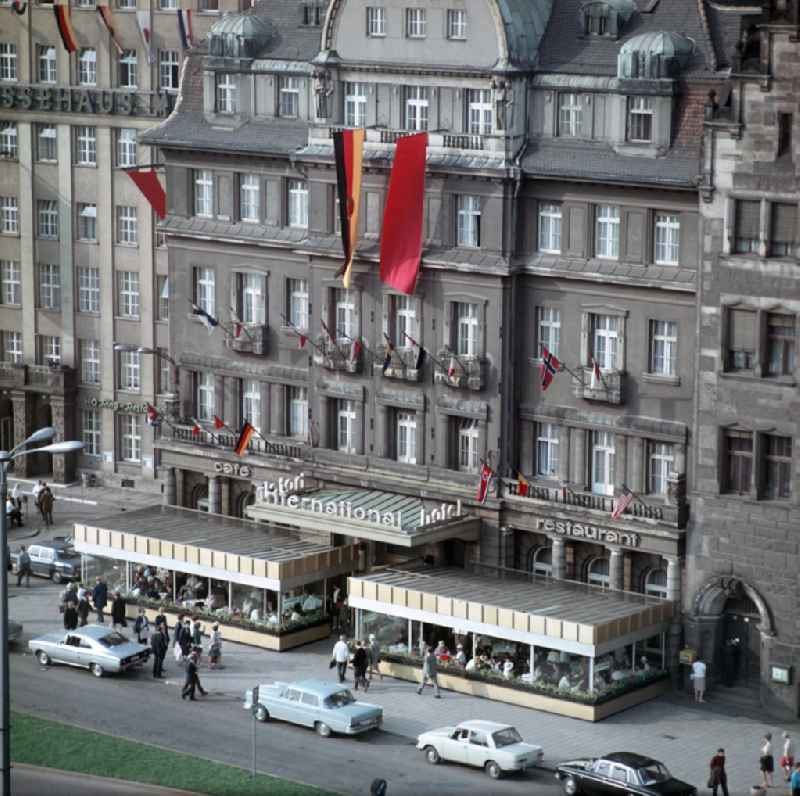 DDR - Hotel International in Leipzig 1968