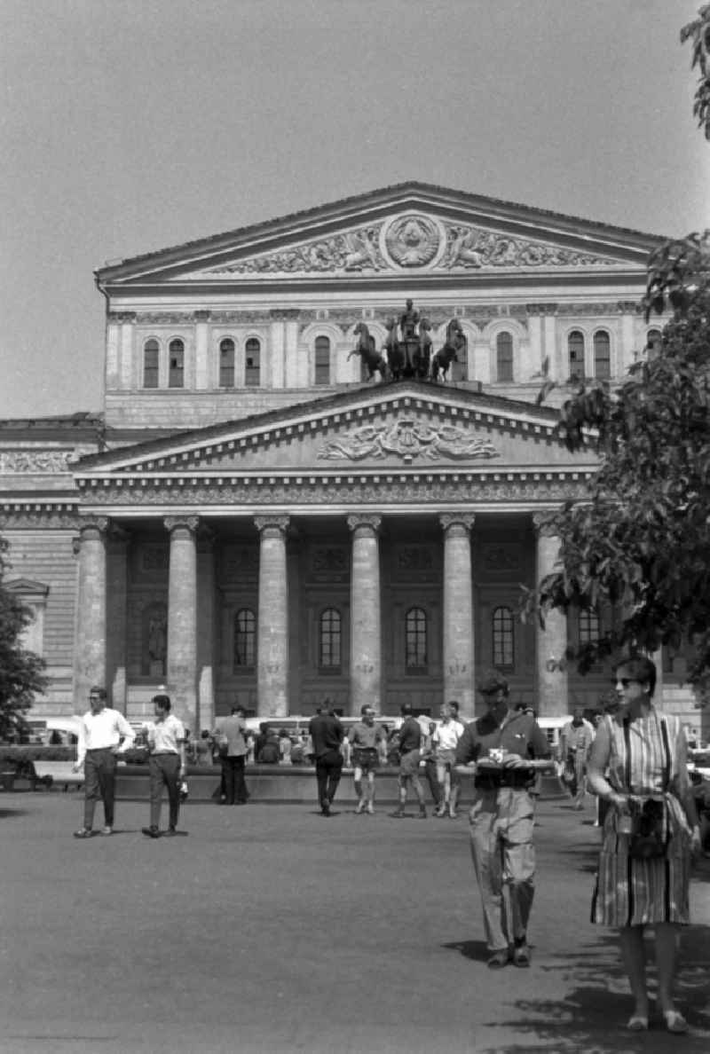 Das Bolschoi Theater in Moskau